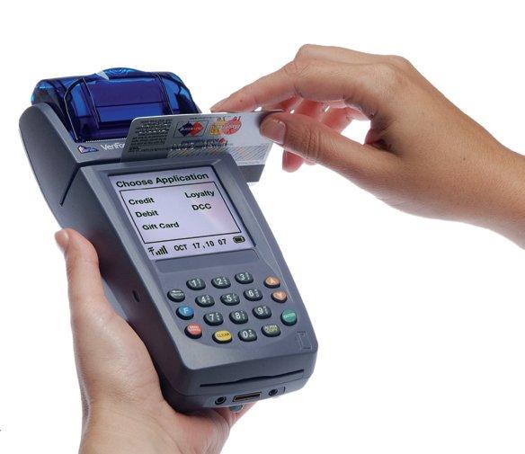 Терминал для приема банковских карт